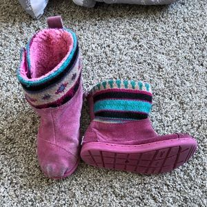 Toddler Toms boots 9